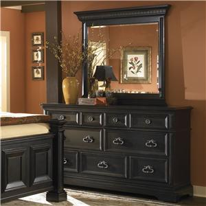 Pulaski Furniture Brookfield Brookfield Dresser and Mirror