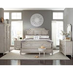 Pulaski Furniture Campbell Street California King Bedroom Group