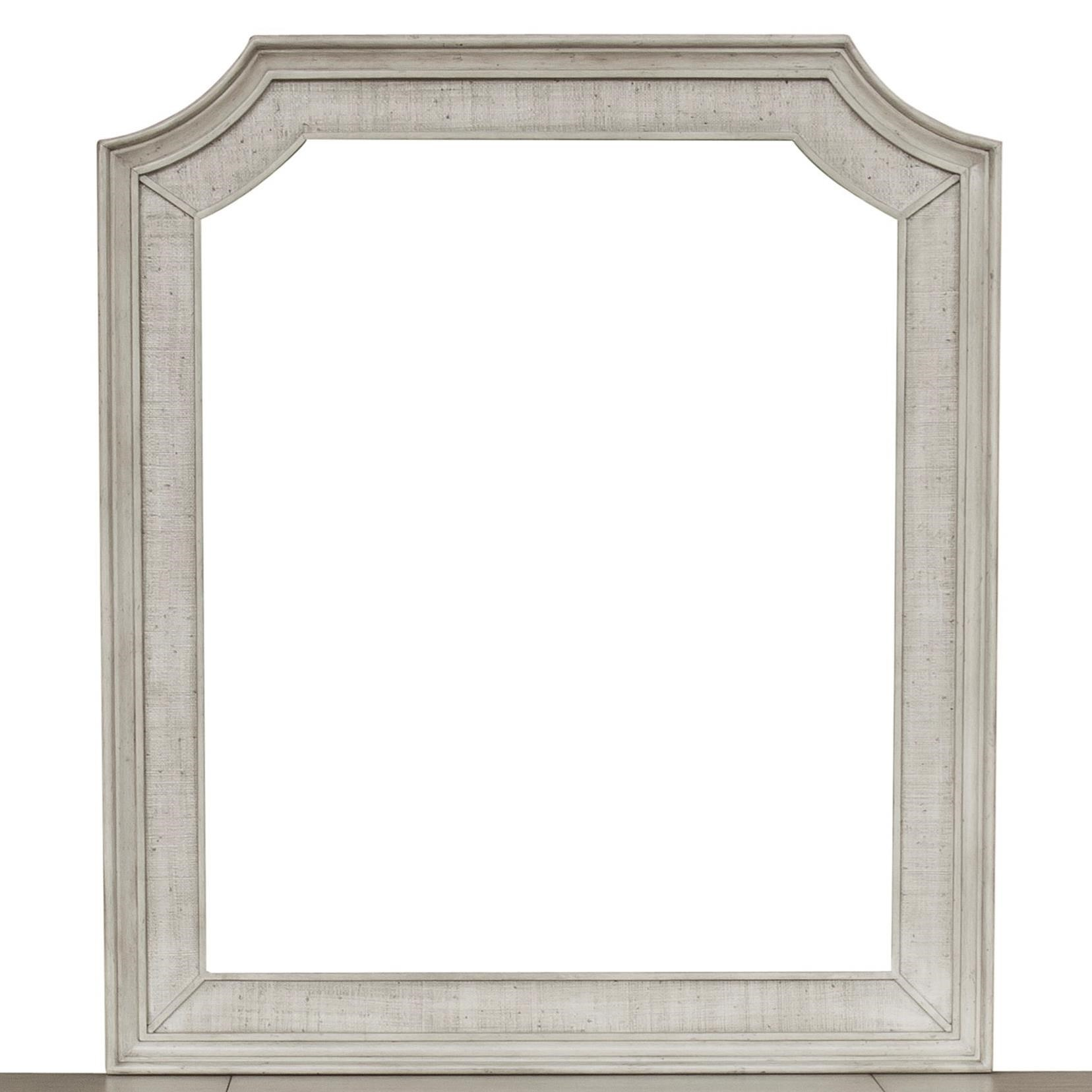 Campbell Street Vanity Mirror by Pulaski Furniture at Alison Craig Home Furnishings