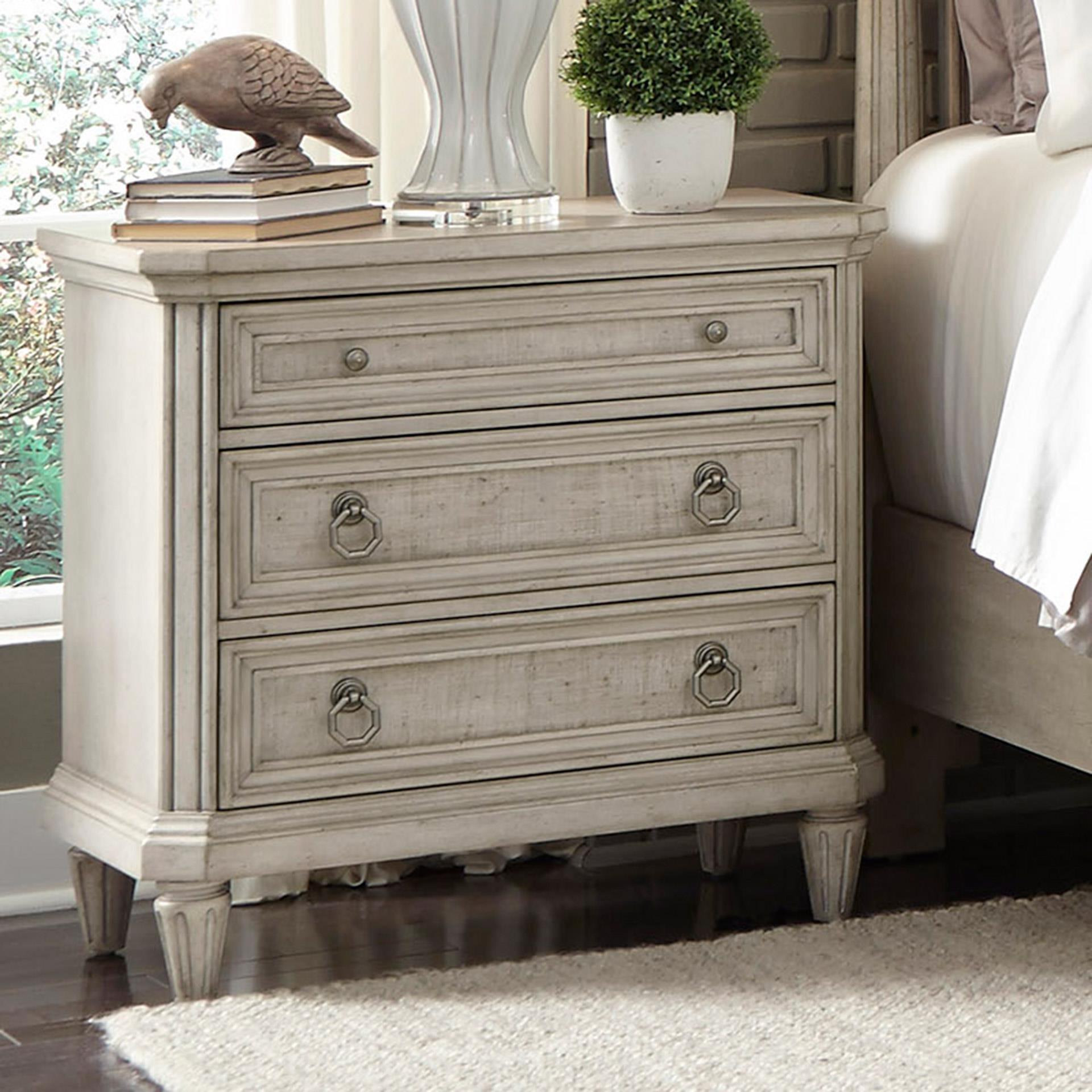 Nightstand with USB Ports