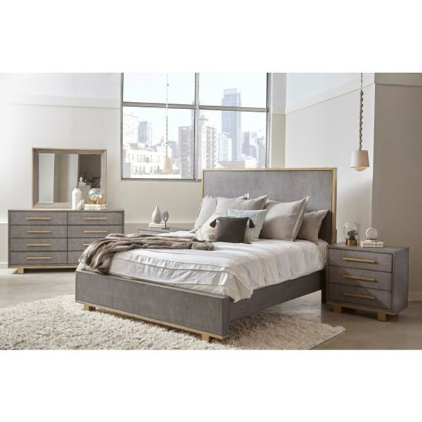 Carmen King Bedroom Group by Pulaski Furniture at Dunk & Bright Furniture