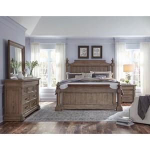 Pulaski Furniture Crestmont California King Bedroom Group