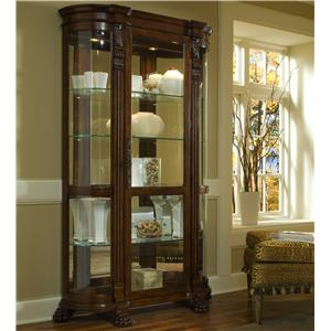 Foxcroft Curved End Curio
