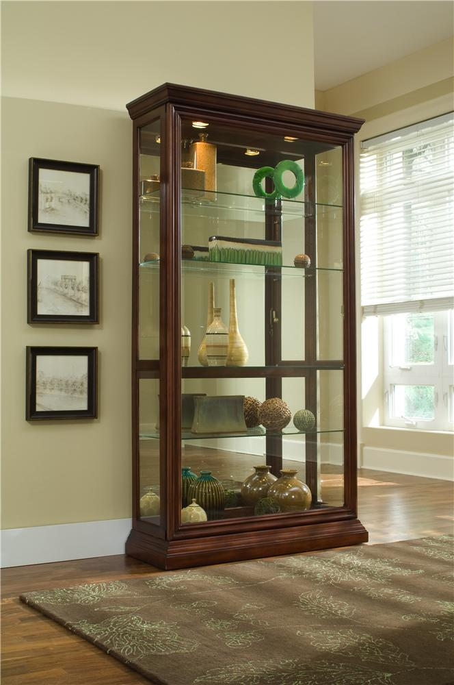 Curios Two Way Sliding Door Curio by Pulaski Furniture at Baer's Furniture