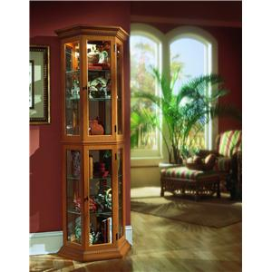 English Oak II Curio