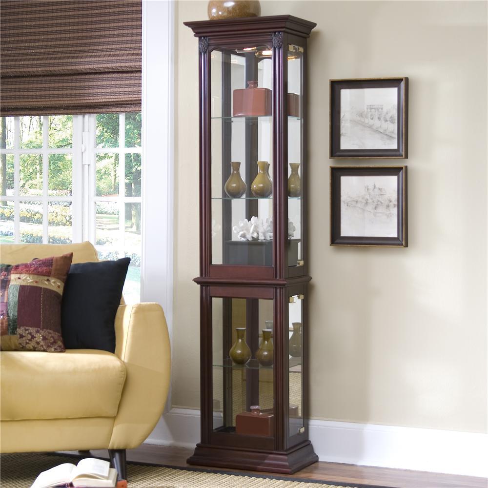 Curios Curio Cabinet by Pulaski Furniture at Baer's Furniture