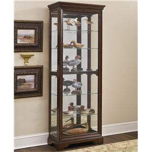 Pulaski Furniture Curios Gallery Curio Cabinet