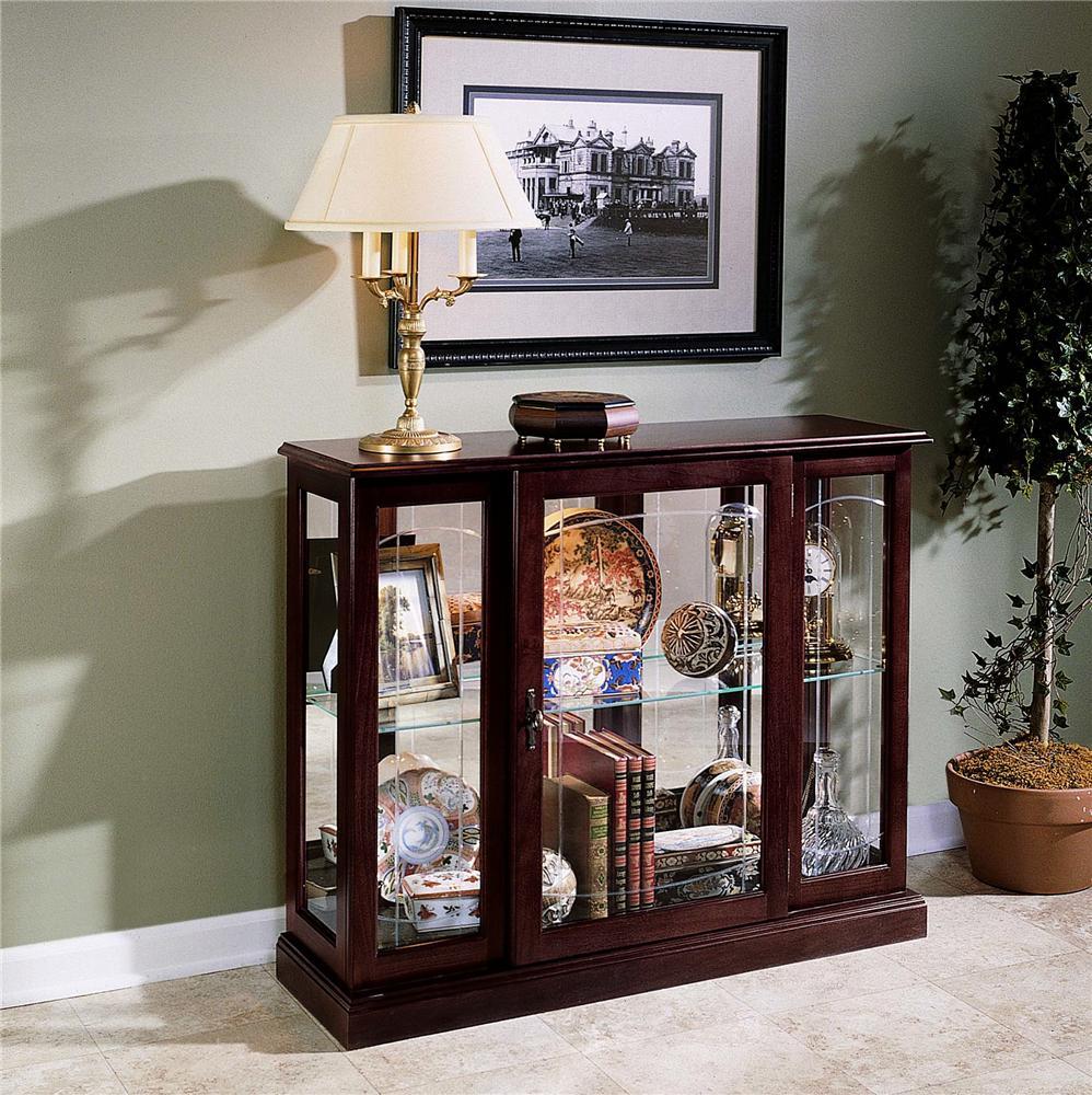 Curios Console by Pulaski Furniture at Baer's Furniture