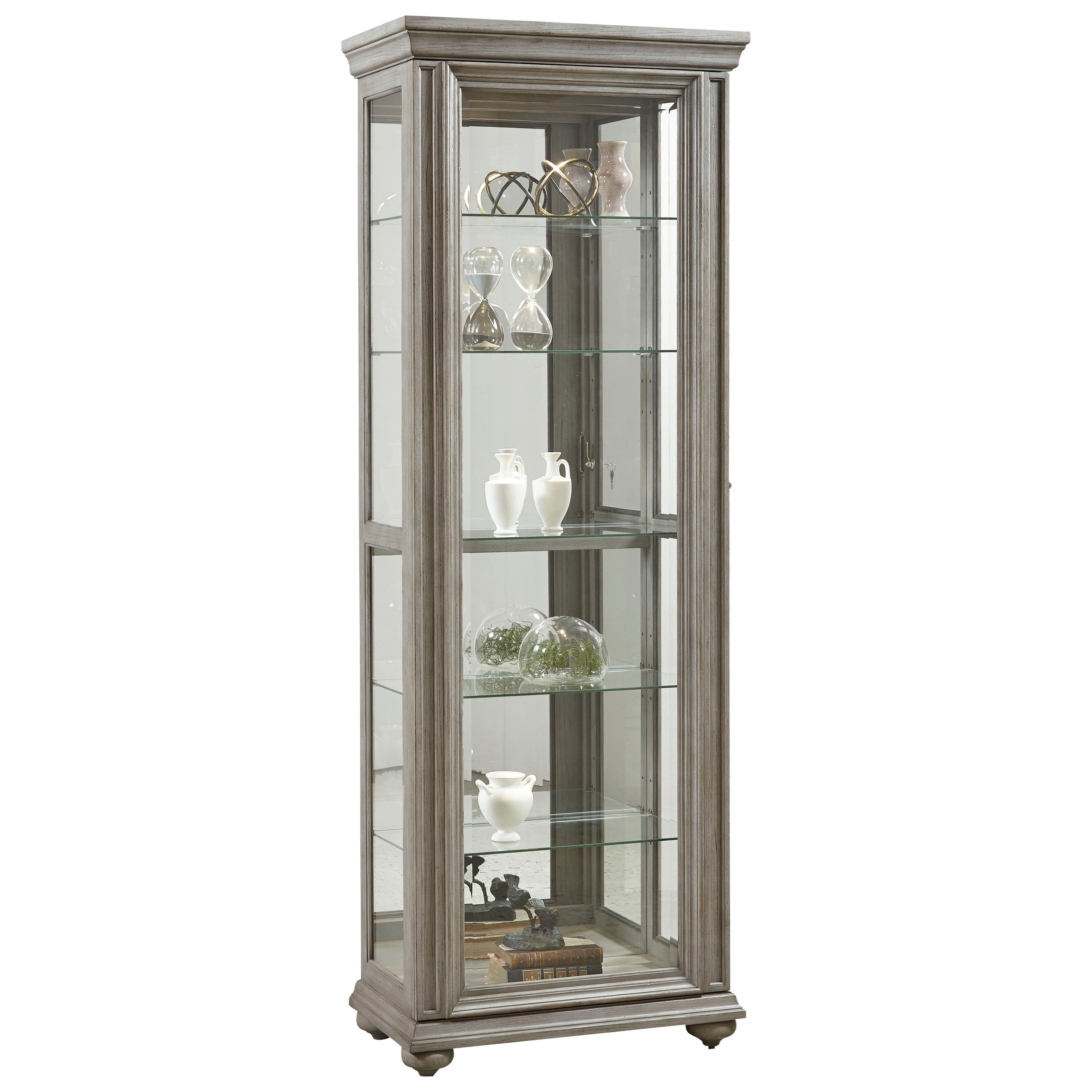 Curios Sliding Front Curio by Pulaski Furniture at Johnny Janosik