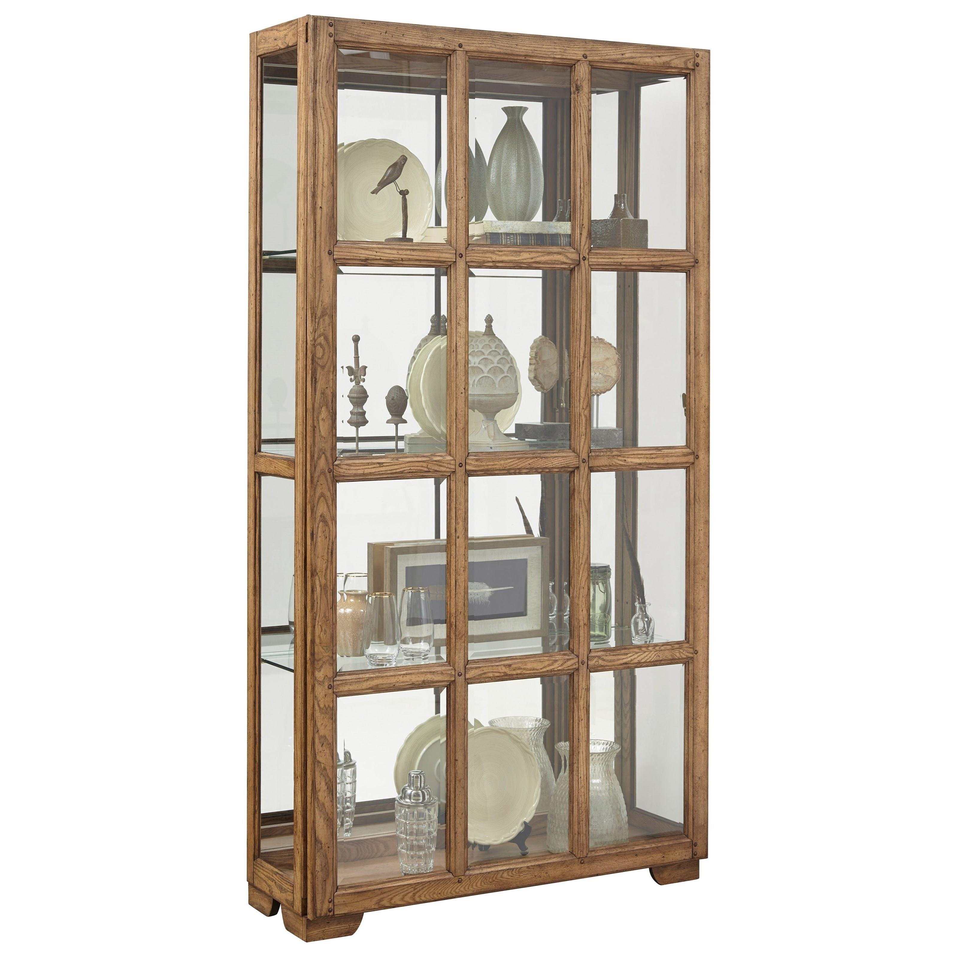 Curios Sliding Door Curio by Pulaski Furniture at Baer's Furniture