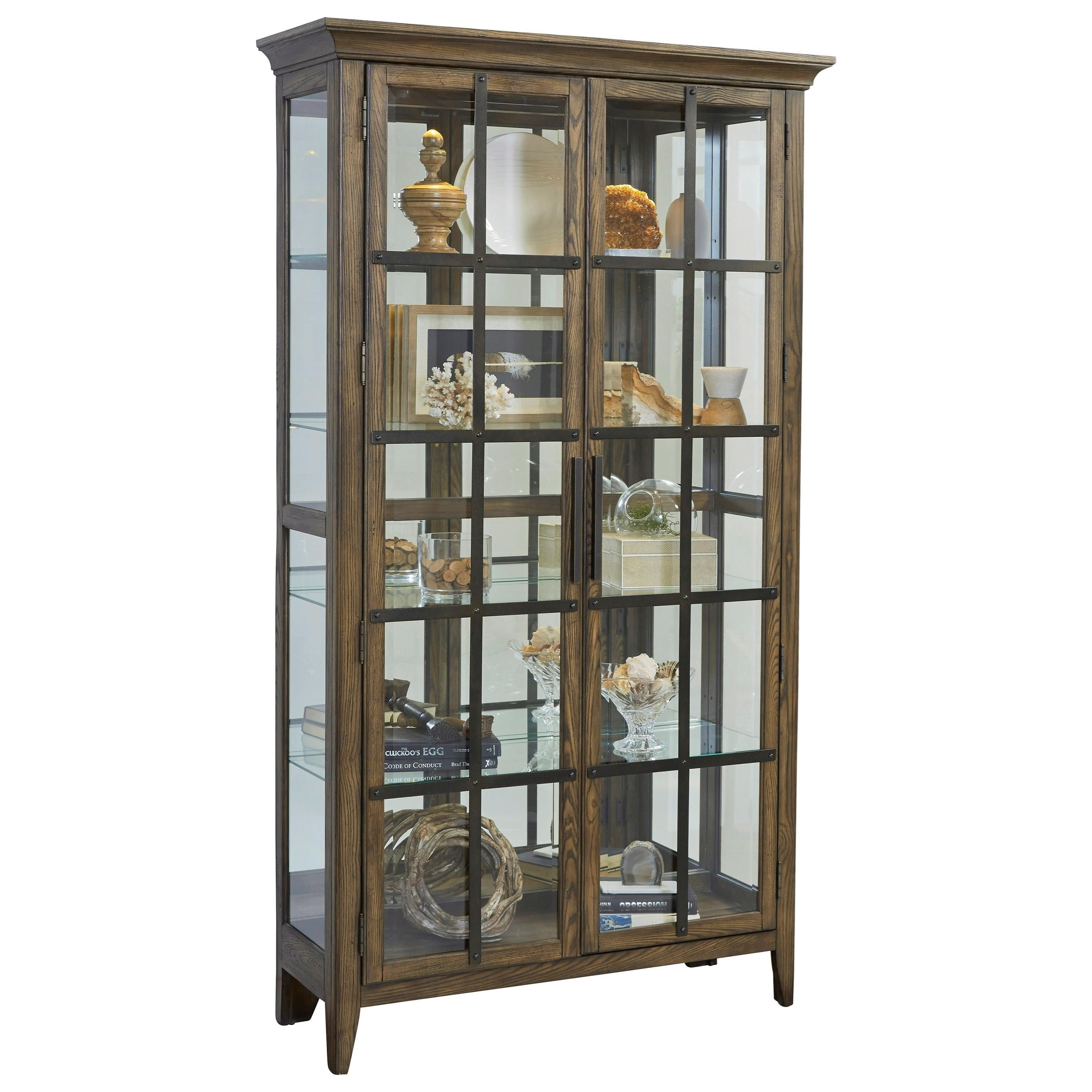 Curios Door Curio by Pulaski Furniture at Suburban Furniture