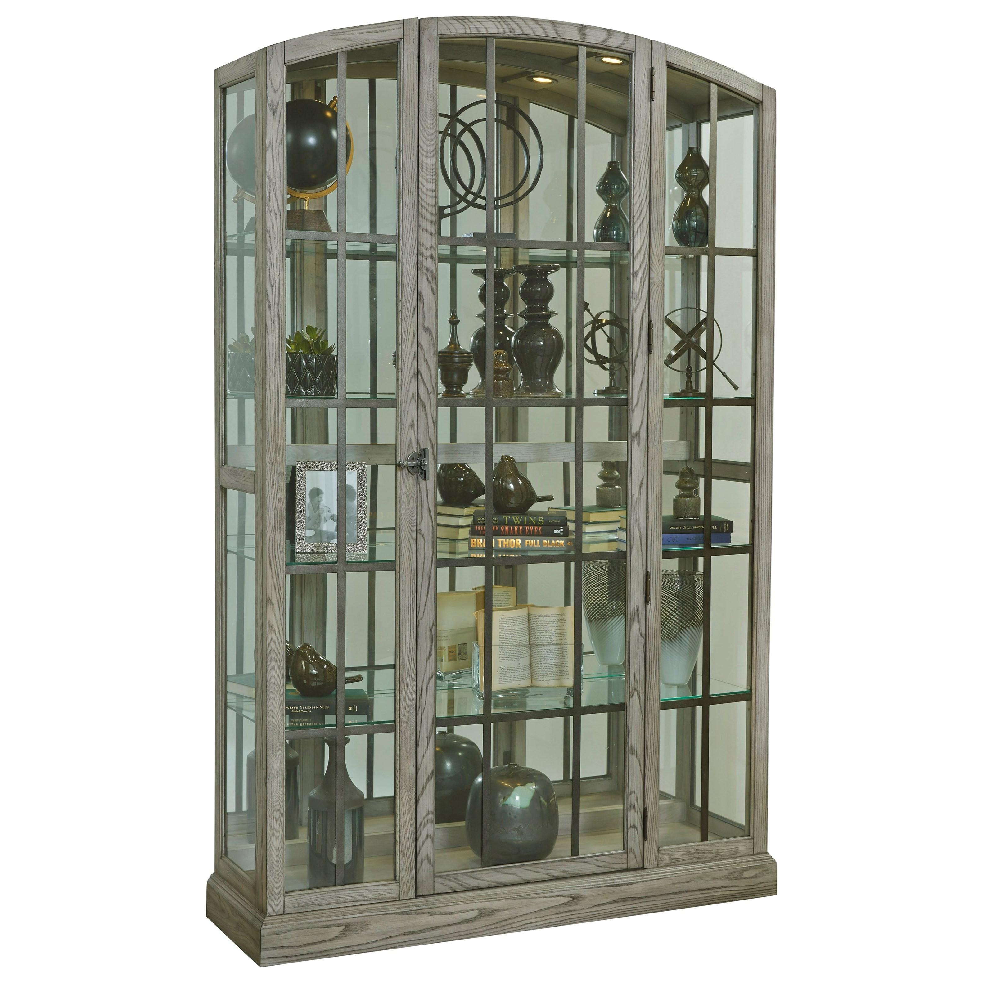 Curios Door Curio by Pulaski Furniture at Baer's Furniture