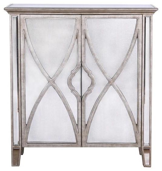 D229 Mirrored Door Chest at Bennett's Furniture and Mattresses