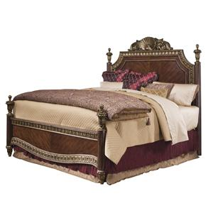 Pulaski Furniture Del Corto Queen Poster Bed