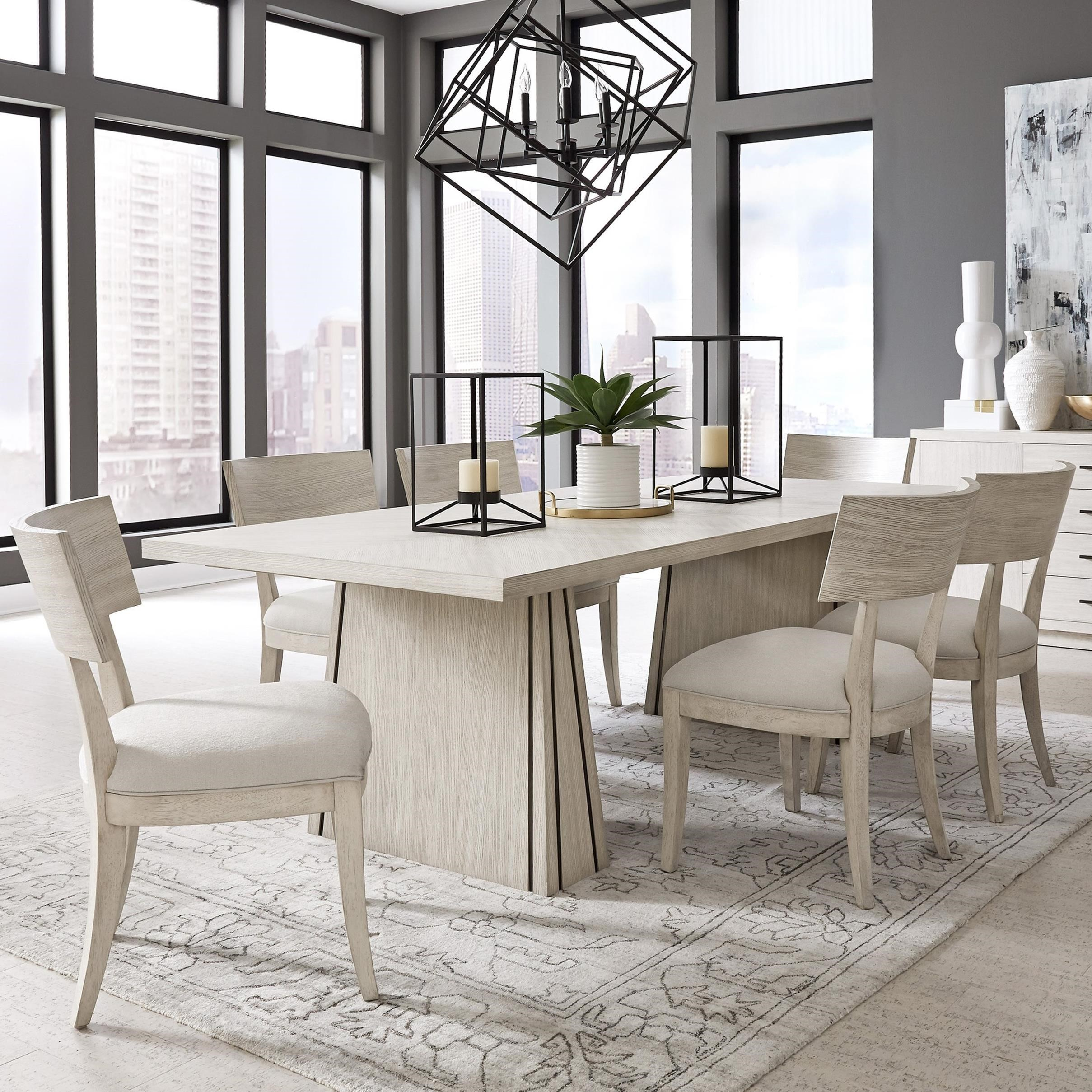 District 3 Table and Chair Set by Pulaski Furniture at Alison Craig Home Furnishings