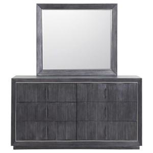 Pulaski Furniture Echo Dresser and Mirror Set