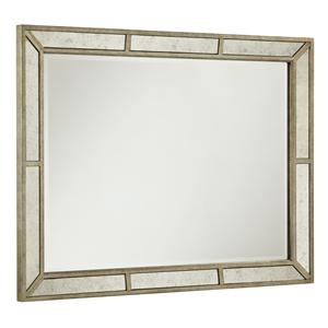 Wall Mirror w/ Antiqued Mirror Frame