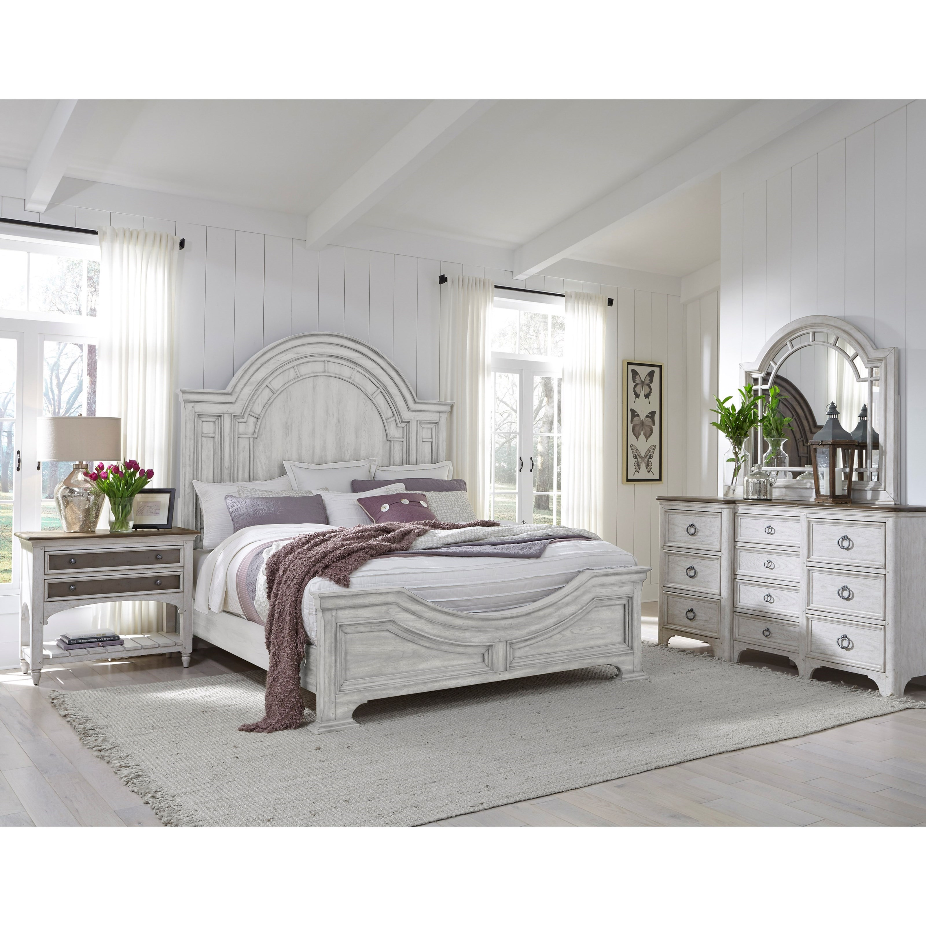Farmhouse California King Bedroom Group