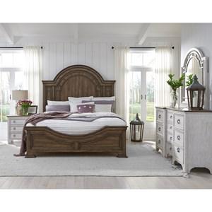 Pulaski Furniture Glendale Estates Farmhouse California King Bedroom Group