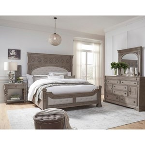 Pulaski Furniture Kingsbury California King Bedroom Group