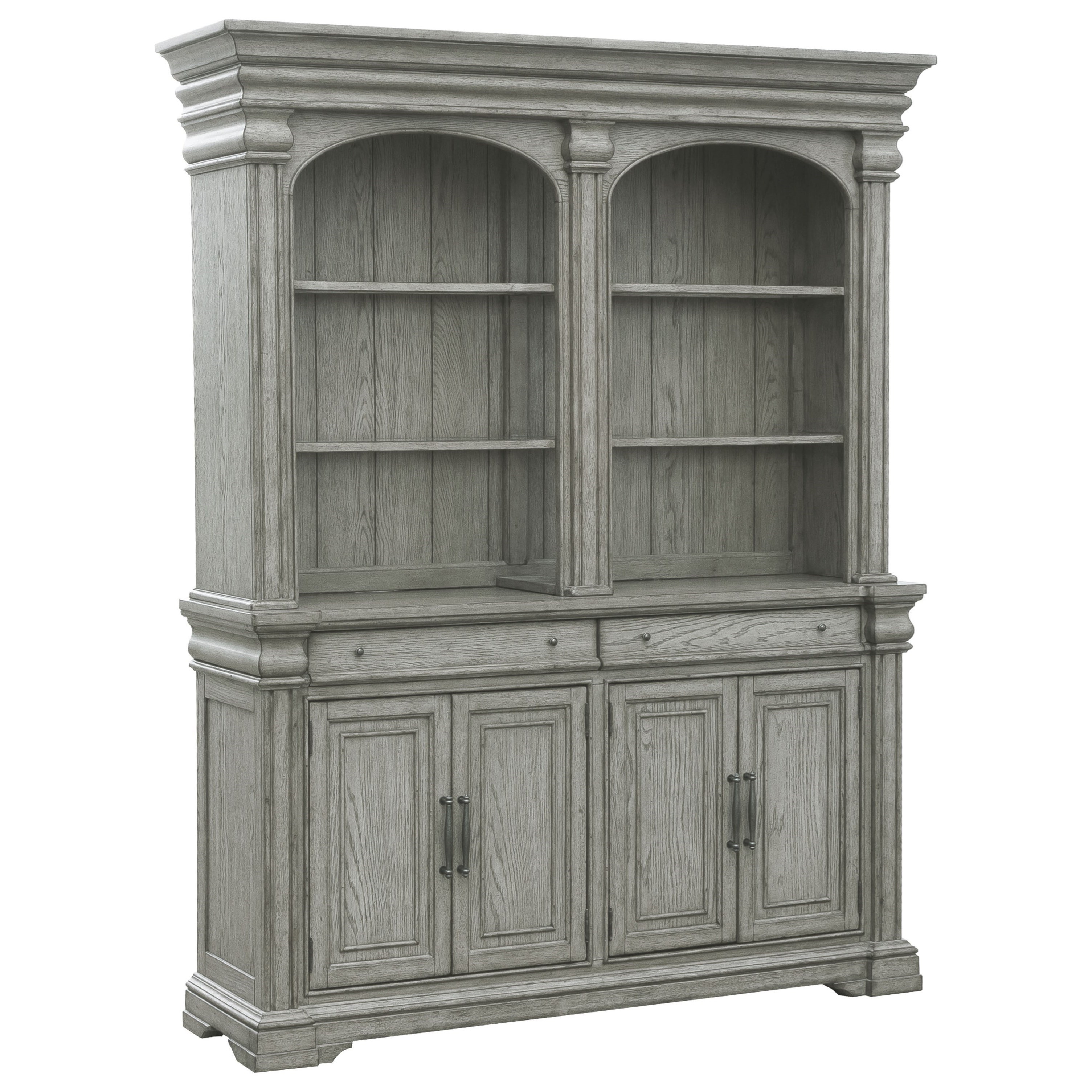Madison Ridge Server and Hutch by Pulaski Furniture at Alison Craig Home Furnishings