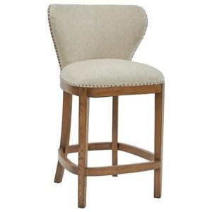 Pulaski Furniture Modern Authentics Deconstructed Counter Height Barstool