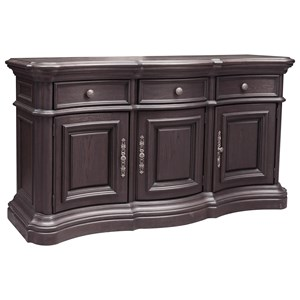 Traditional Serpentine Sideboard
