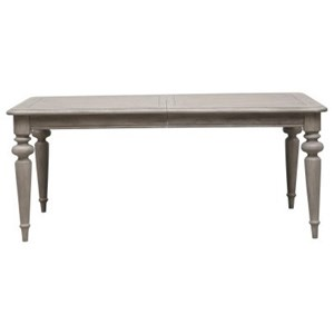 """Traditional Dining Table with 2 18"""" Leaves"""