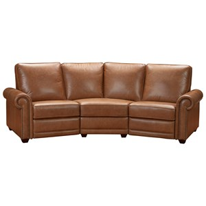 Transitional 3-Piece Sectional Conversation Sofa