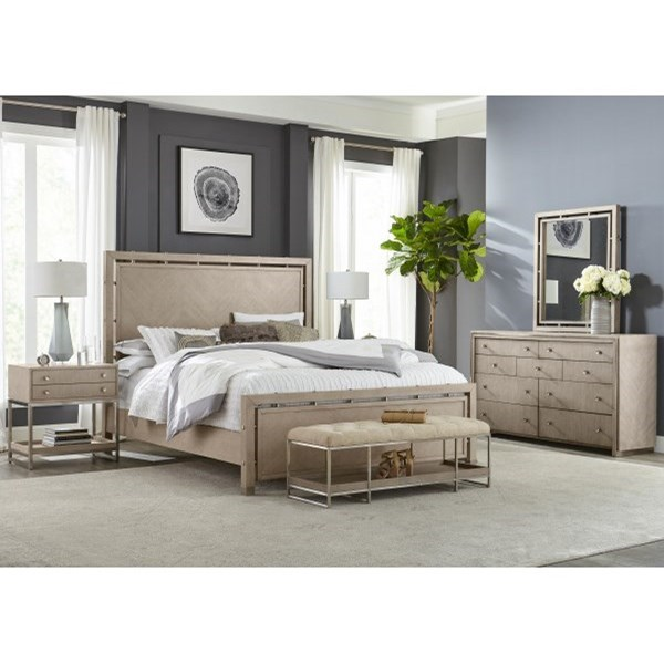 Sutton Place Queen Bedroom Group by Pulaski Furniture at A1 Furniture & Mattress