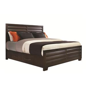 Pulaski Furniture Tangerine  King Storage Bed