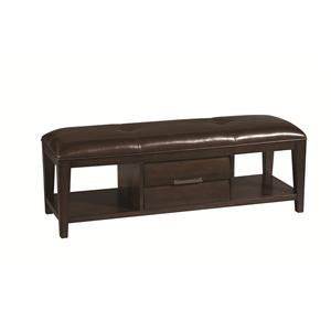 Pulaski Furniture Tangerine  Bench