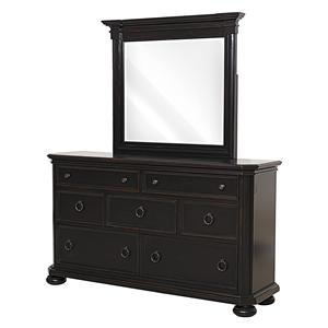 Pulaski Furniture Yardley Dresser & Mirror Set