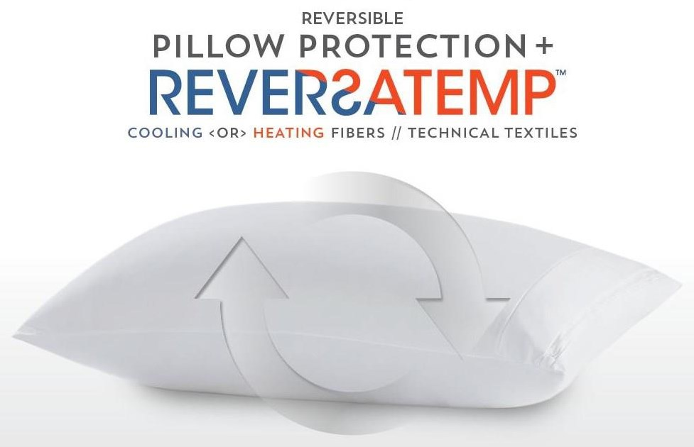 REVERSA TEMP Pillow Protector at Ultimate Mattress