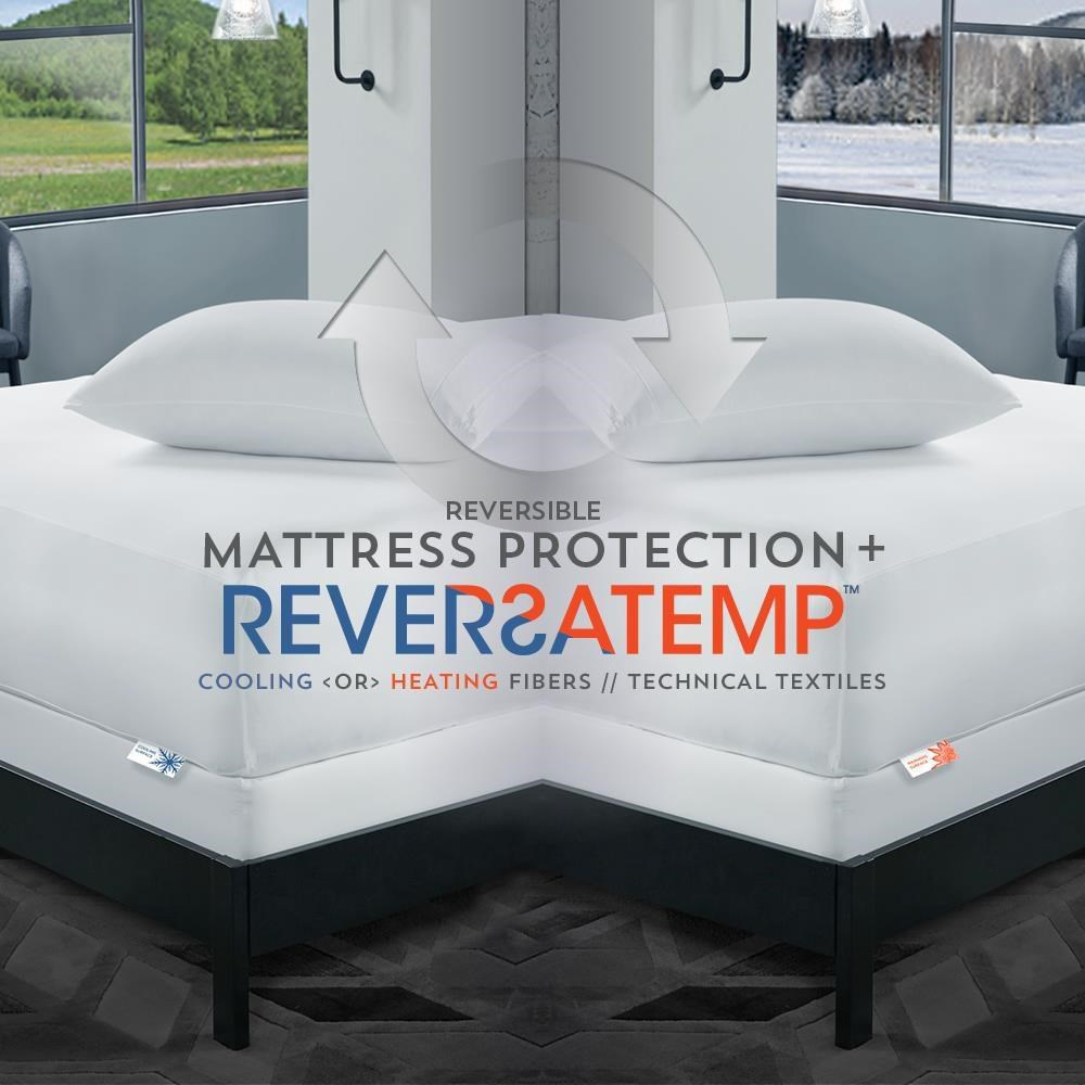 ReversaTemp Mattress Protector Queen Mattress Protector at Ultimate Mattress