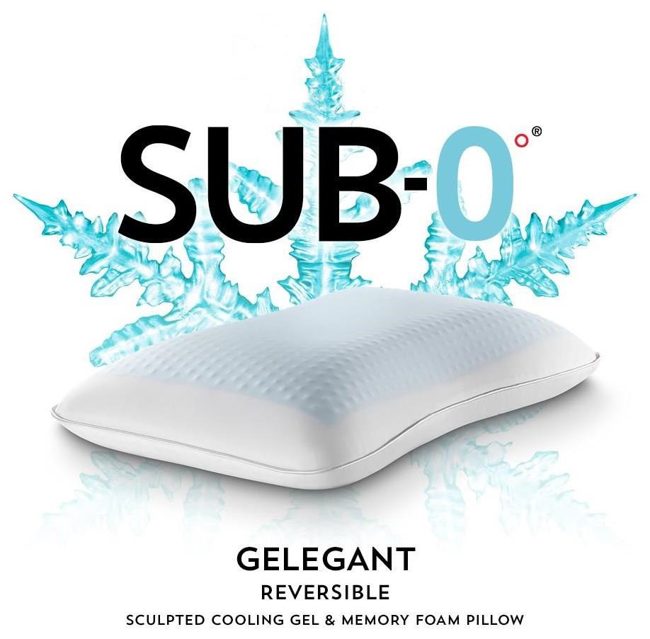 SUB-0 Pillow Standard Pillow at Ultimate Mattress