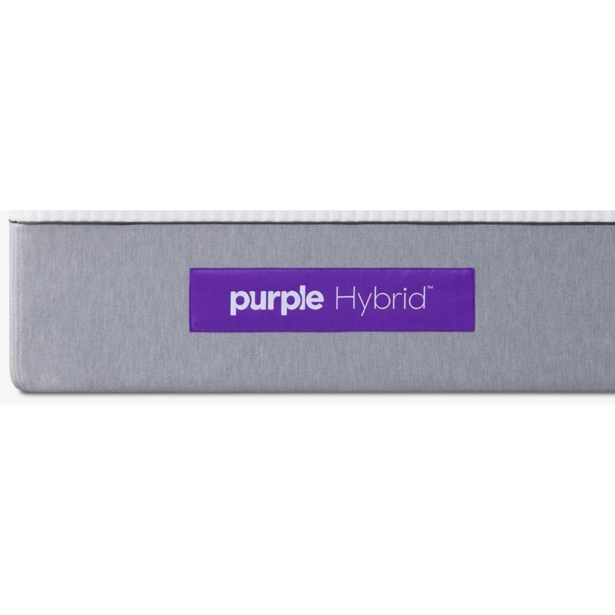 """Purple Hybrid Queen 11"""" Purple Hybrid Mattress by Purple at Darvin Furniture"""