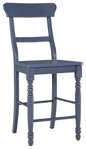 D845 SAVANNAH NAVY STOOL by Progressive Furniture at Furniture Fair - North Carolina