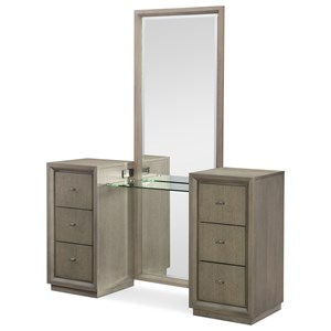 Vanity with Outlets/USB Ports