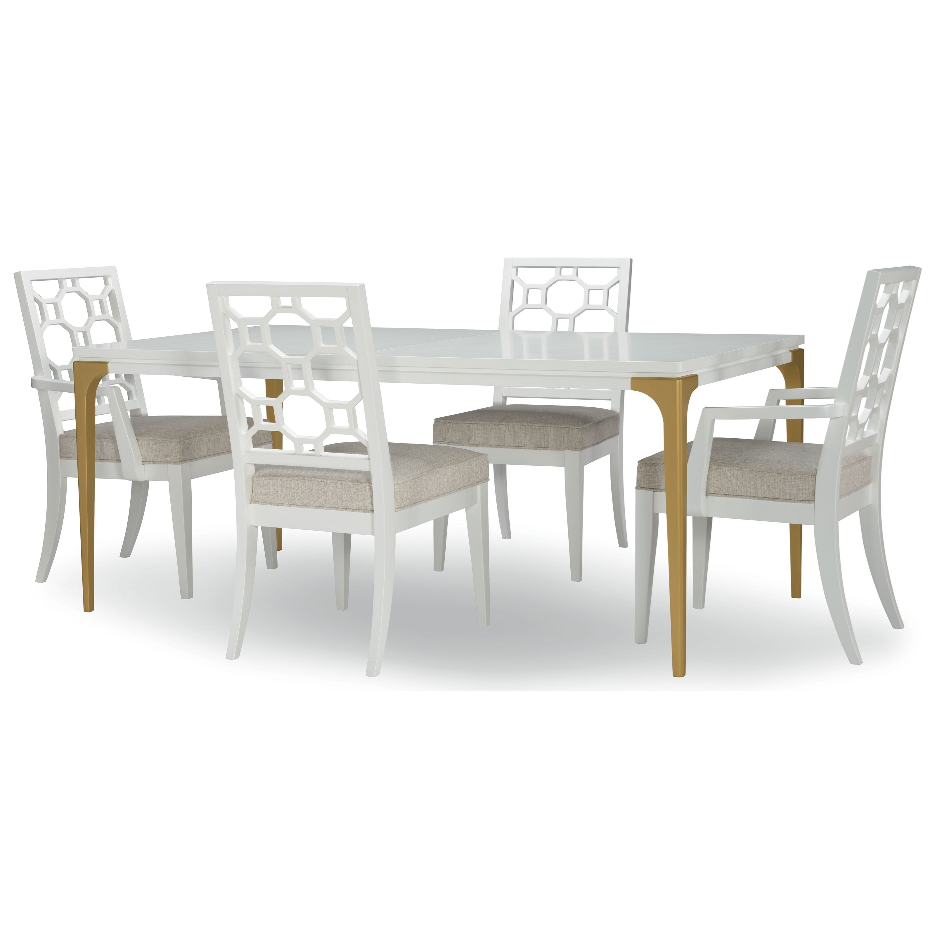 Chelsea  5-Piece Table and Chair Set by Rachael Ray Home by Legacy Classic at Pilgrim Furniture City