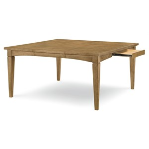 Rectangle to Square Storage Leg Table