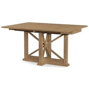 Drop Leaf Trestle Dining Table/Console Table