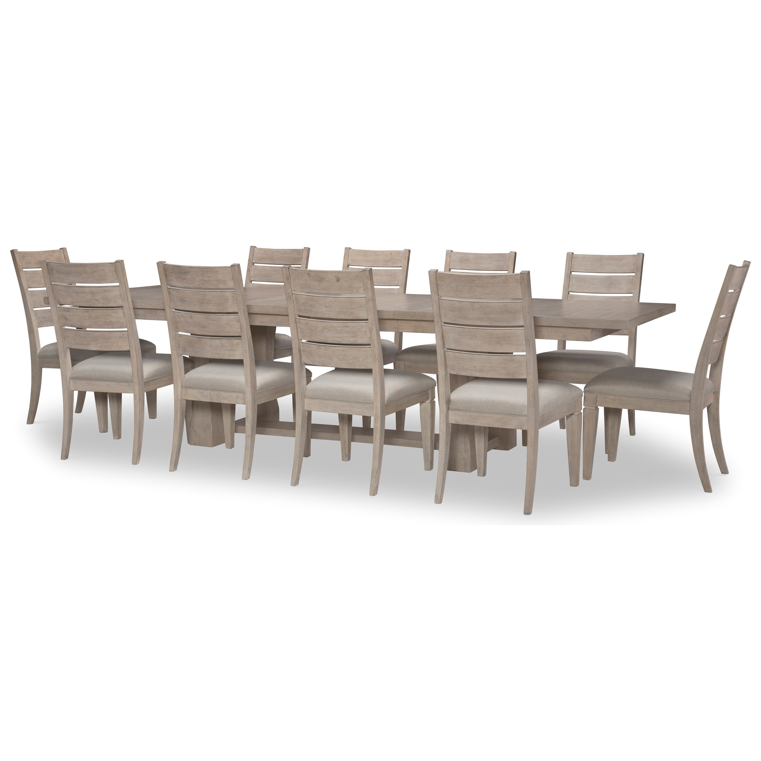 Milano 11-Piece Table and Chair Set by Rachael Ray Home by Legacy Classic at Johnny Janosik