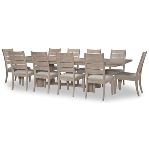 11-Piece Table and Chair Set