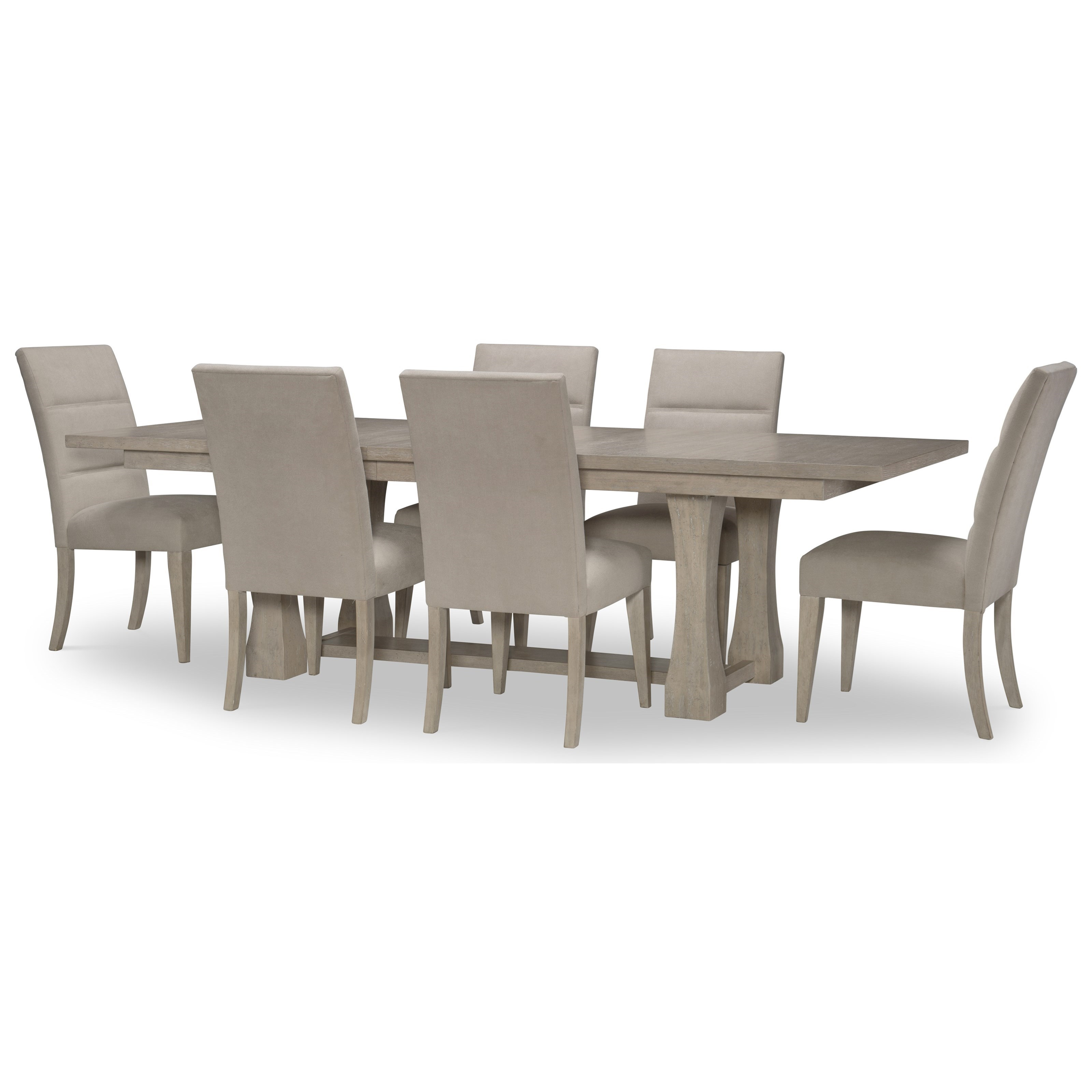 Milano 7-Piece Table and Chair Set by Rachael Ray Home by Legacy Classic at Johnny Janosik
