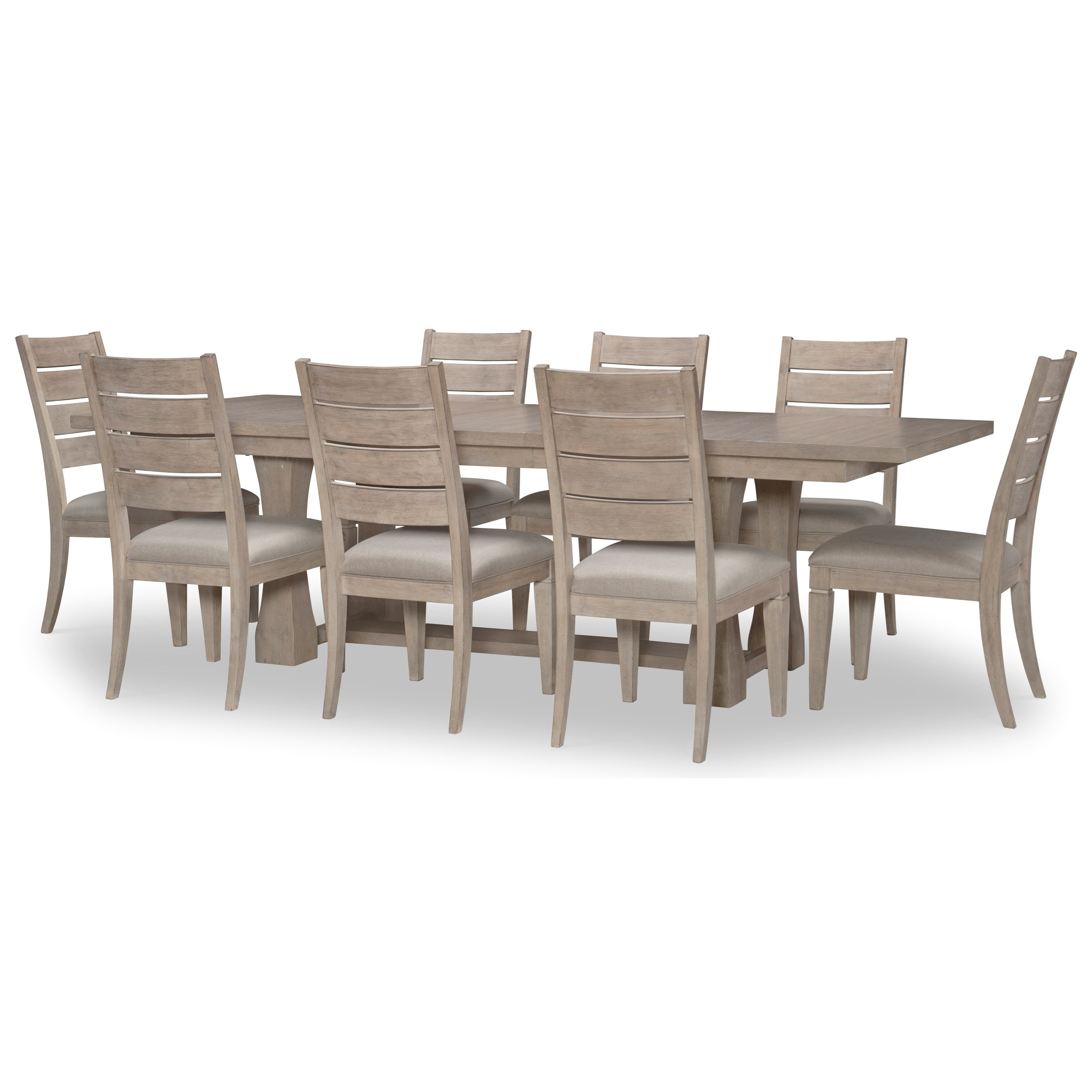 Milano 9-Piece Table and Chair Set by Rachael Ray Home by Legacy Classic at Johnny Janosik