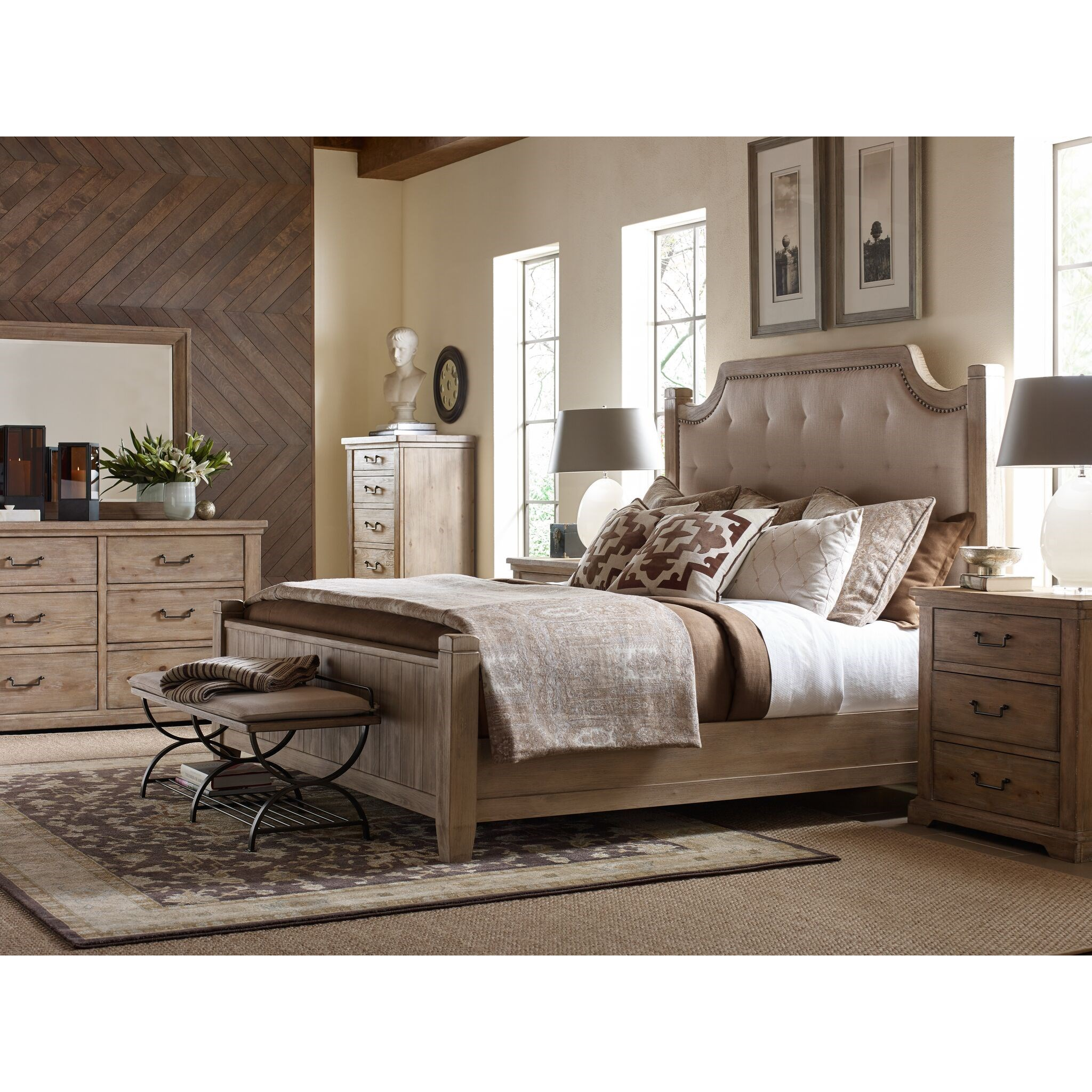 Monteverdi  King Bedroom Group by Rachael Ray Home by Legacy Classic at Fashion Furniture