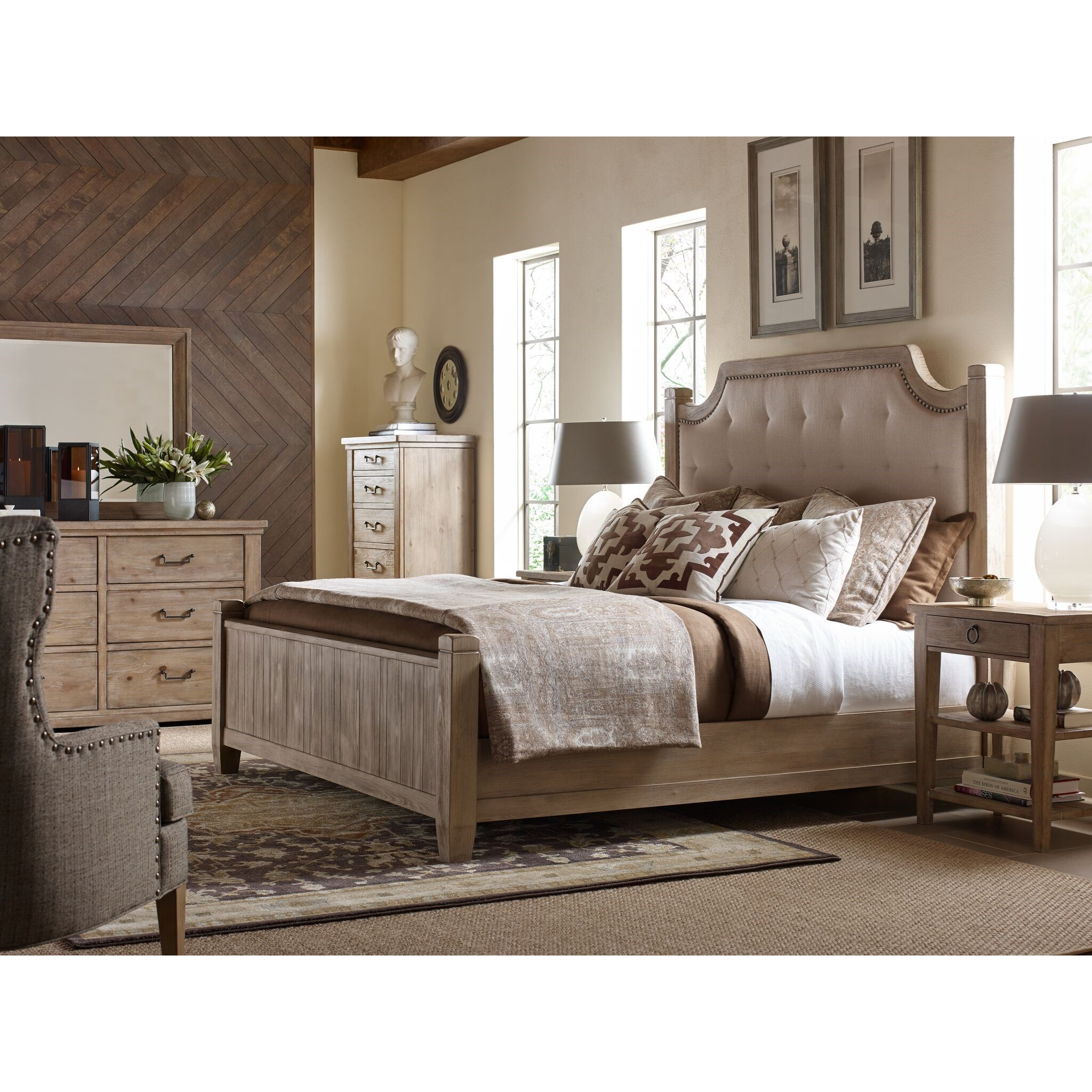 Monteverdi  Queen Bedroom Group by Rachael Ray Home by Legacy Classic at Fashion Furniture