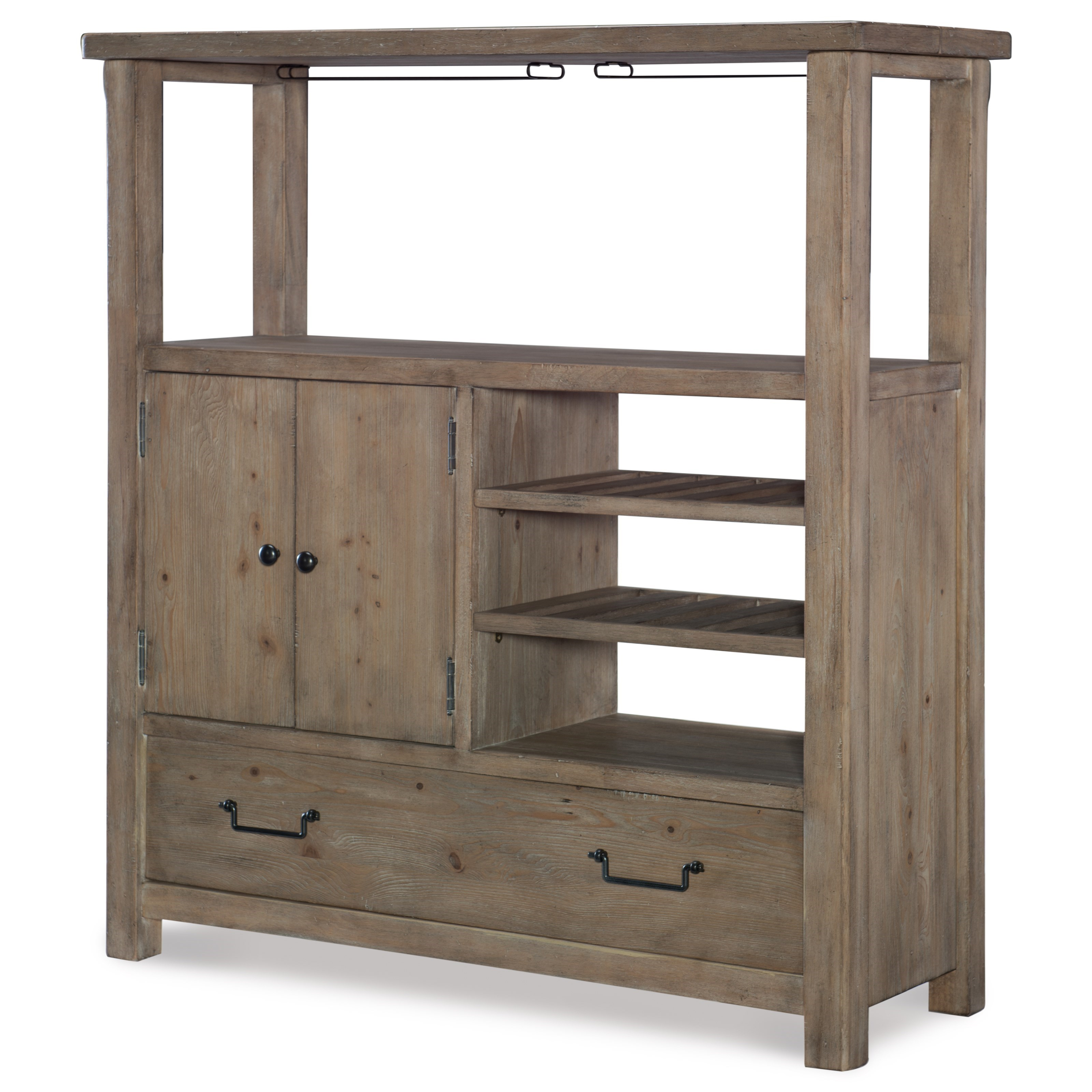 Monteverdi  Bar Cabinet by Rachael Ray Home by Legacy Classic at Fashion Furniture
