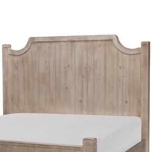 Queen Low Post Headboard